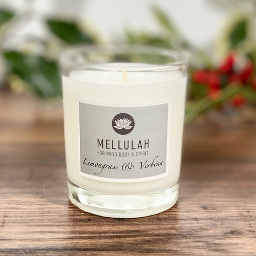 Lemongrass & Verbena Scented Candle Large