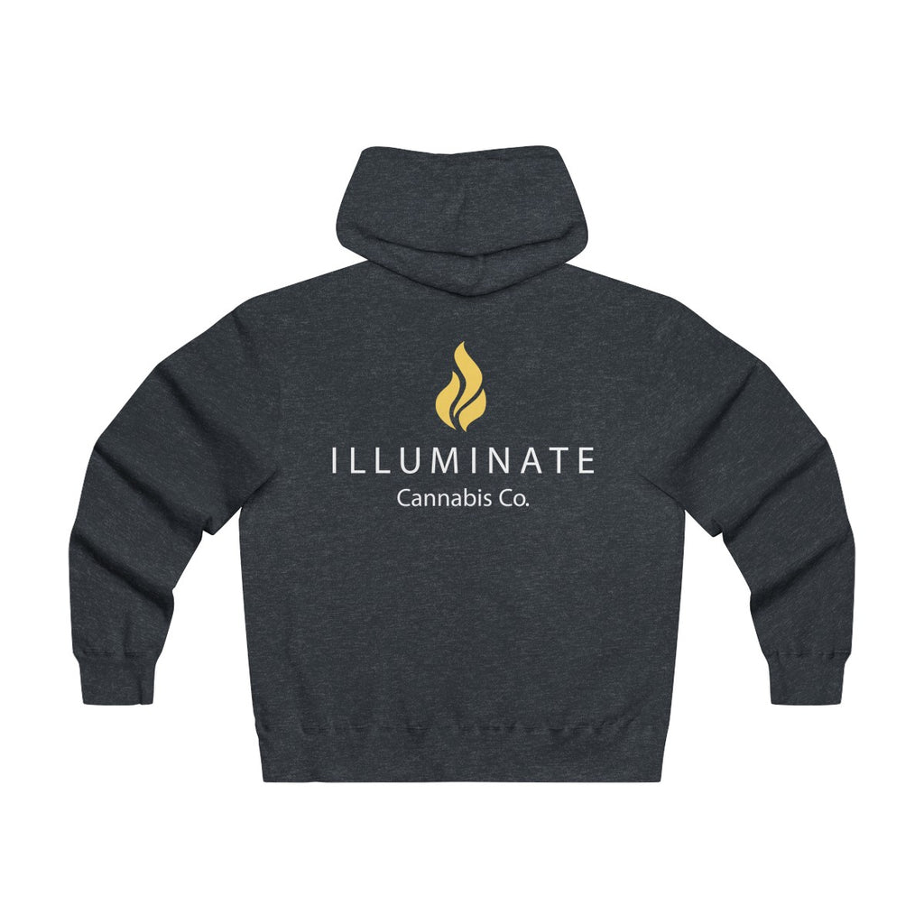 Lightweight Zip Hooded Logo Sweatshirt