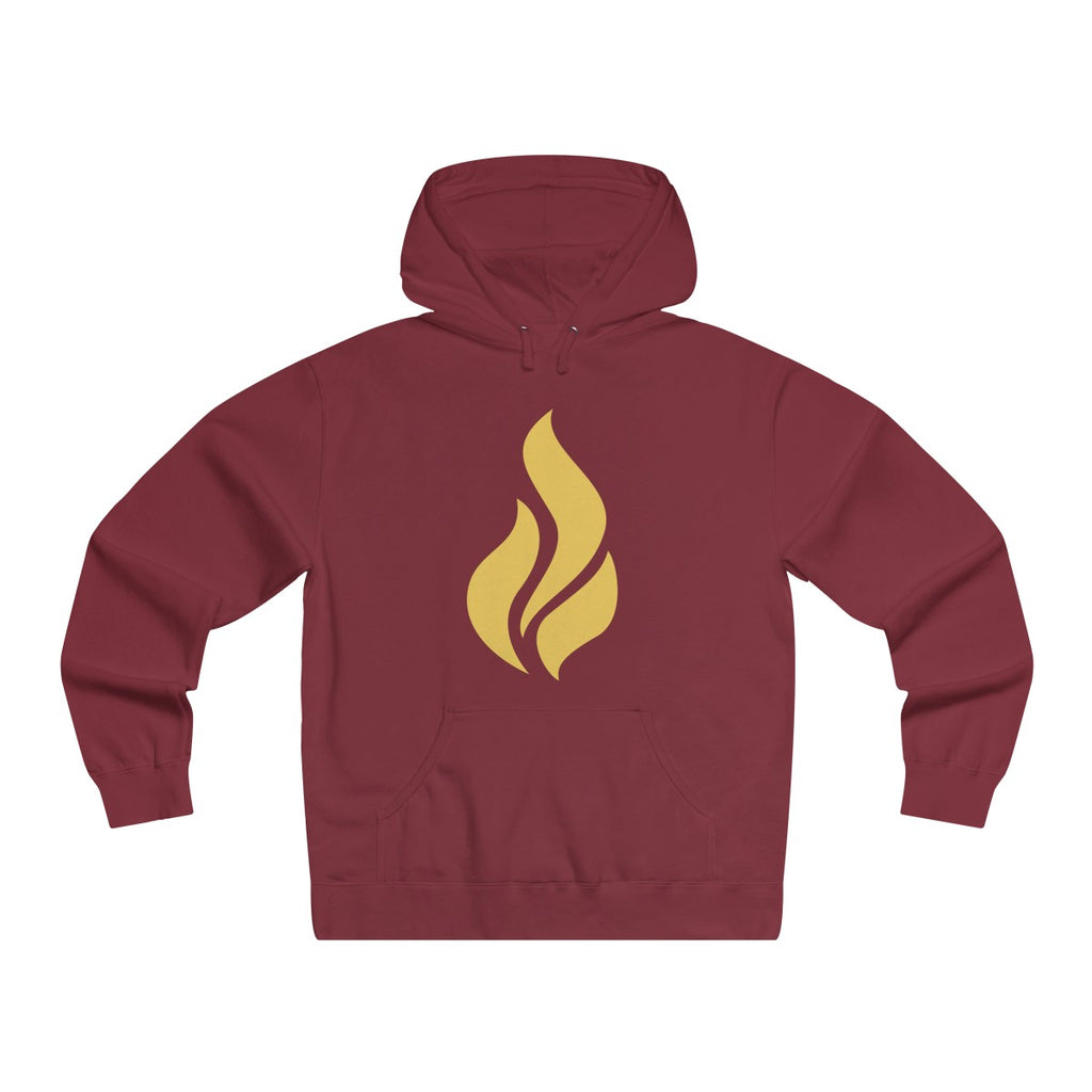 Lightweight Pullover Hooded Flame Sweatshirt