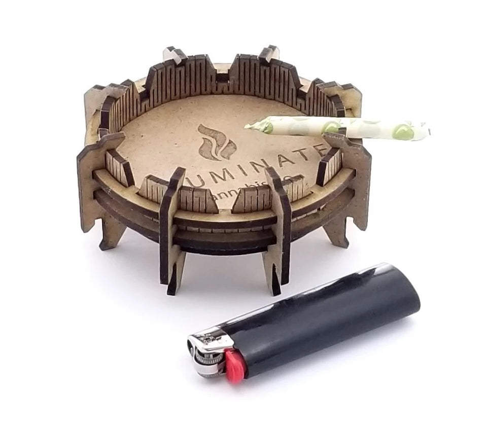 Wholesale Laser Cut Ash Tray Kit