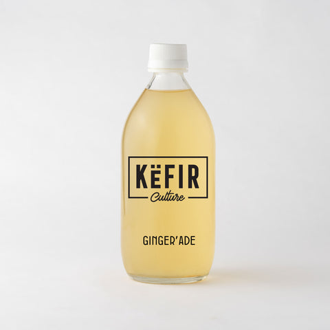 Ginger'Ade (Probiotic Kefir Lemonade)