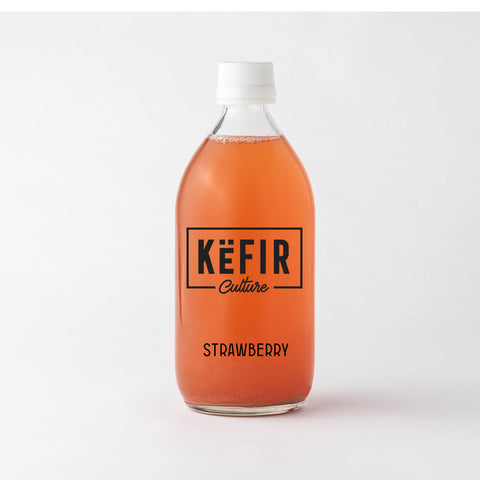 Strawberry Kefir'ade (Probiotic Kefir Lemonade)