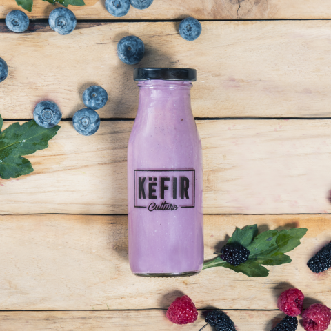 Mixed Berry Kefir