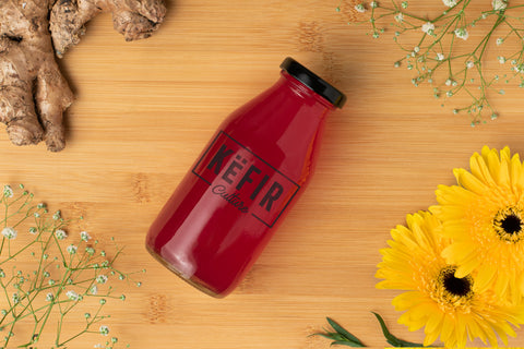 Cranberry Water Kefir