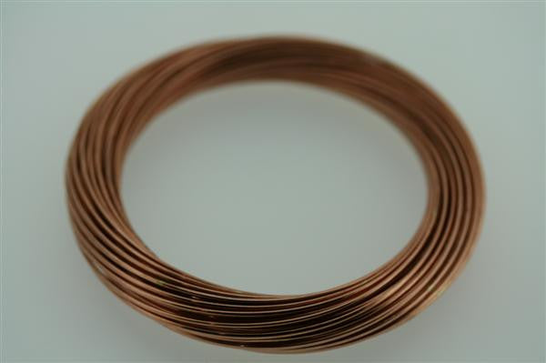 50 strand copper russian bangle