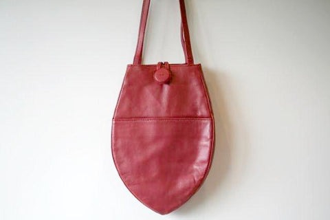 small papaya bag - red