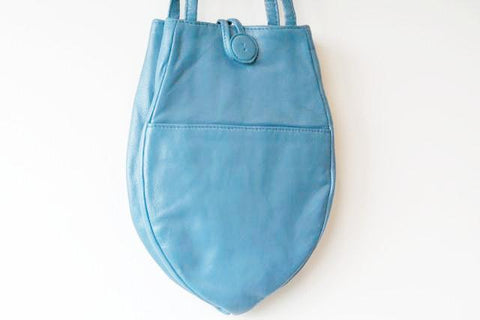 small papaya bag - blue