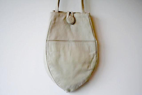 small papaya bag - ivory