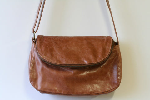 bonnie sling bag - antique tan