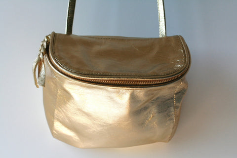 Photographer bag - metallic gold