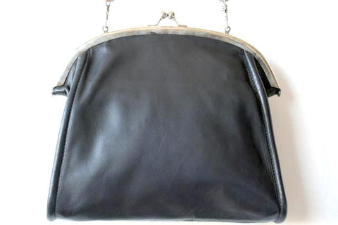 Jeanne frame bag - black