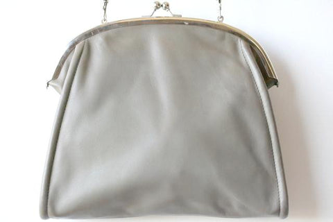 Jeanne frame bag - grey