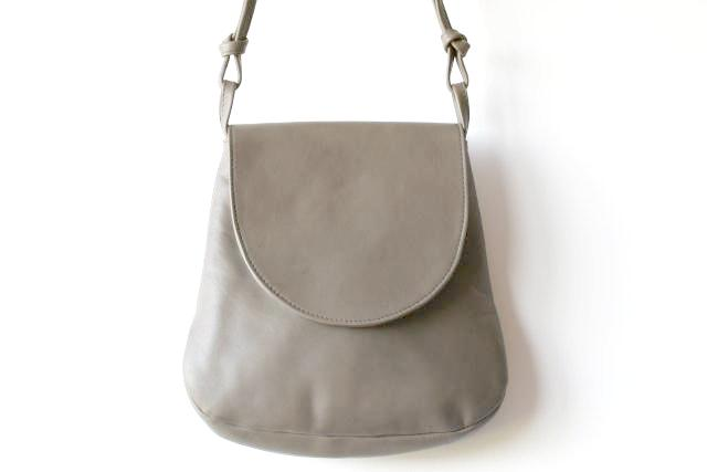motoring bag - grey