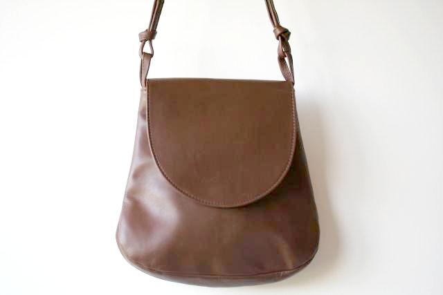 motoring bag - choc