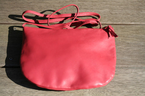 U-pouch - Long Strap- red