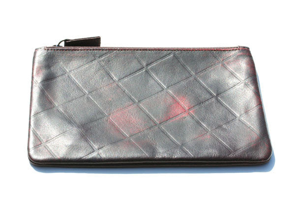 zip envelope - black/red