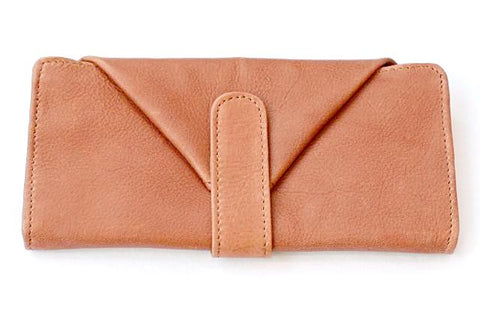envelope wallet - tan