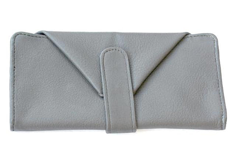 envelope wallet - charcoal