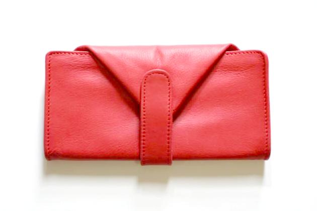 envelope wallet - red