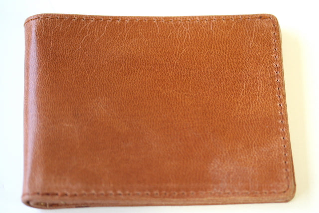 notes & cards wallet - tan