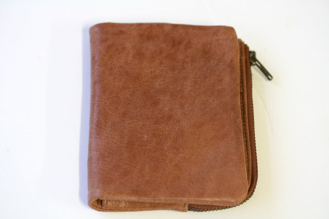 Marcel wallet - antique tan