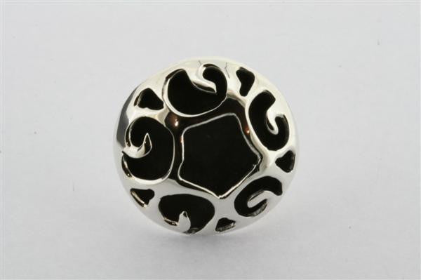 circular oxidised vine ring
