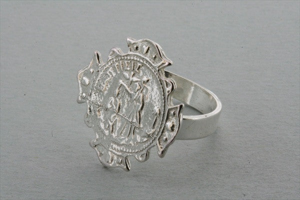coin cross ring