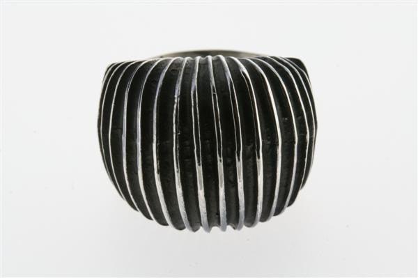 concertina signet ring