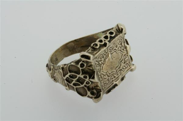 deco seal ring - bronze