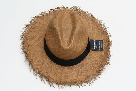 Panama Hat - Fray - Tobacco