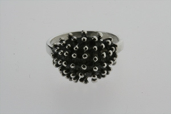 fizzy bubble ring - oxidised