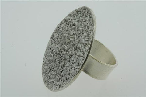 flat disc etched ring
