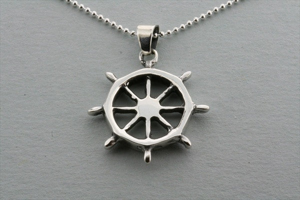 helm pendant on 55cm ball chain
