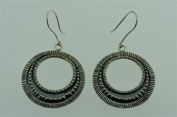 industrial hoop earring