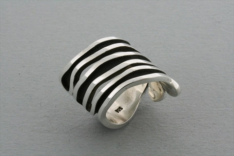 inside out spiral ring
