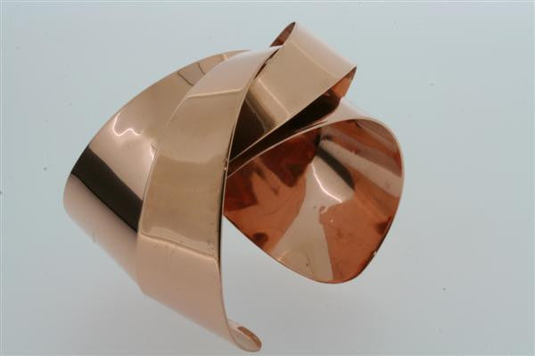 interwoven cuff - copper