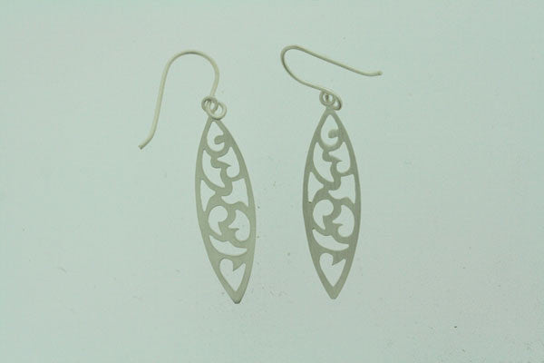 intricate spear earring
