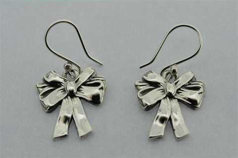 lace bow earring