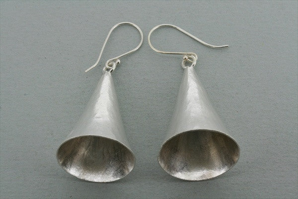 large cone earring