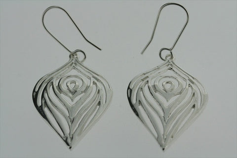 layered bulb earring