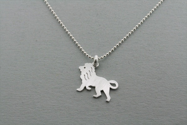 lion pendant on 55cm ball chain