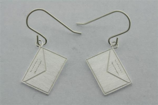 little envelope earring