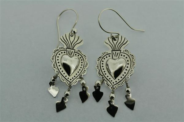 miracle heart earring