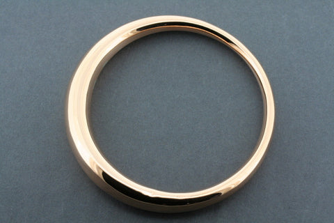 tapering tubular bangle - copper