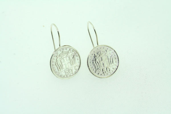 clean coin earring