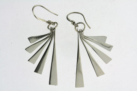 long fan earring