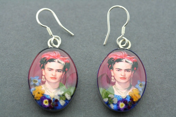 frida flower earring