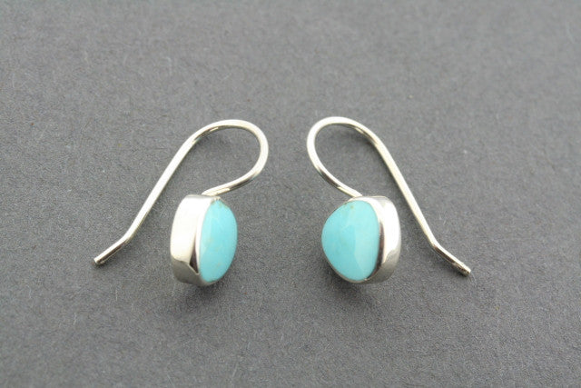 turquoise trillian hook earring