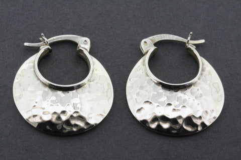 battered basket earring