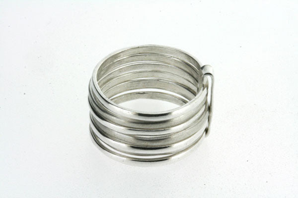 7 in one matte & polished ring